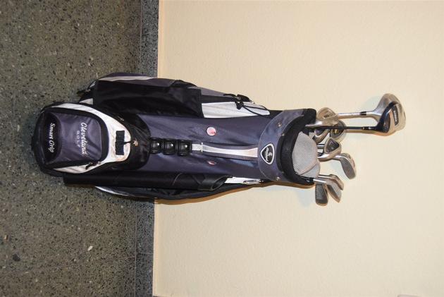 Golfausrüstung sichergestellt