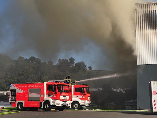 (C) Feuerwehr Bergisch Gladbach
