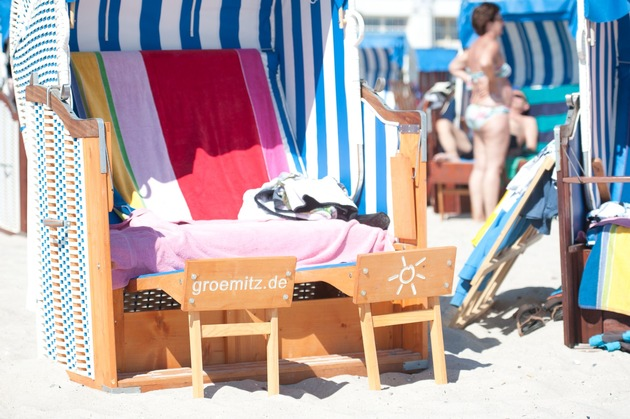 Auf den Strandkorb, fertig, los!