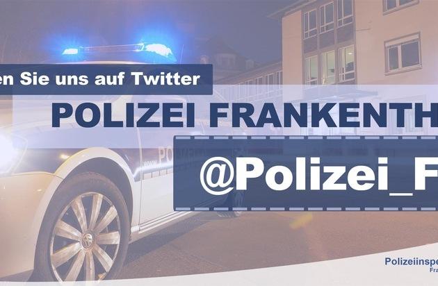 POL-PDLU: (Frankenthal) -Geldbeutel und Schlüssel geraubt- - Presseportal.de