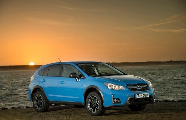 """Der Subaru XV hinterlässt nicht nur bei den Restwerten einen positiv bleibenden Eindruck. Weiterer Text über ots und www.presseportal.de/nr/34801 / Die Verwendung dieses Bildes ist für redaktionelle Zwecke honorarfrei. Veröffentlichung bitte unter Quellenangabe: """"obs/Subaru"""""""