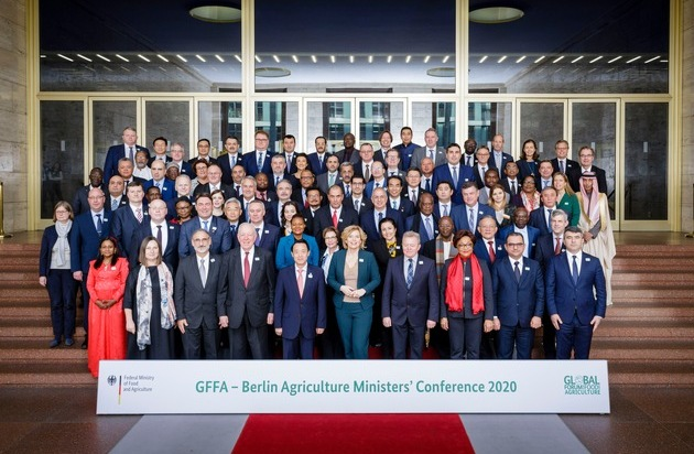 Grüne Woche 2020: 12. Global Forum for Food and Agriculture beendet