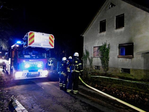 Wohnungsbrand am Kermelberg