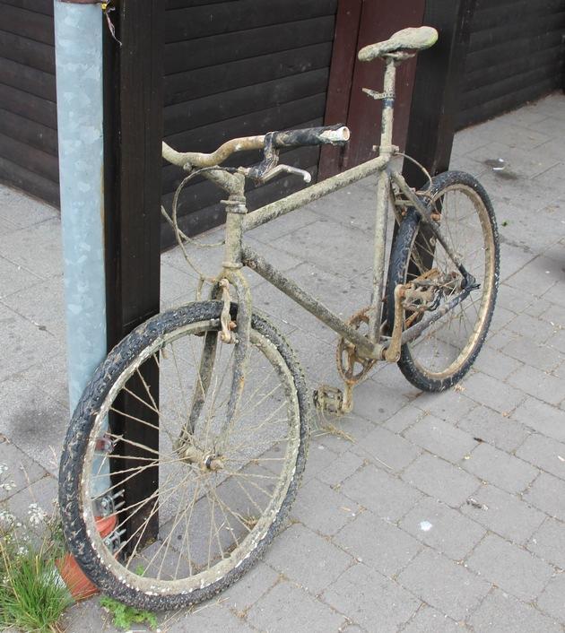 Wem gehört dieses Rad?