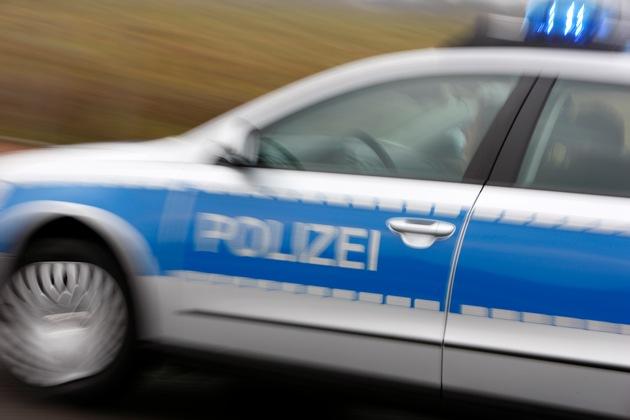 Symbolbild: Intensive Fahndungsmaßnahmen der Polizei nach Raubüberfall