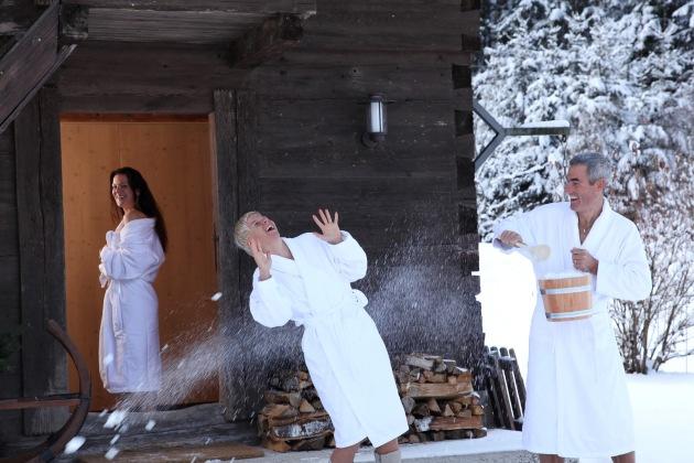 Romantische Bergweihnacht im 4 Sterne Relax- und Wanderhotel Poppengut - BILD