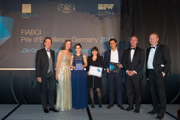 Arkadien Poing erhält Fiabci/BFW Sonderpreis für bezahlbares Bauen in Berlin. Foto: BFW