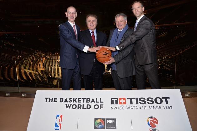 Tissot, der Spitzenspieler in der Welt des Basketballs