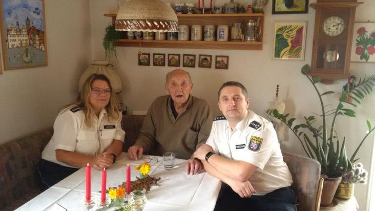 POL-OH: Ein Ganz Besonderer Moment: Polizeihauptmeister A