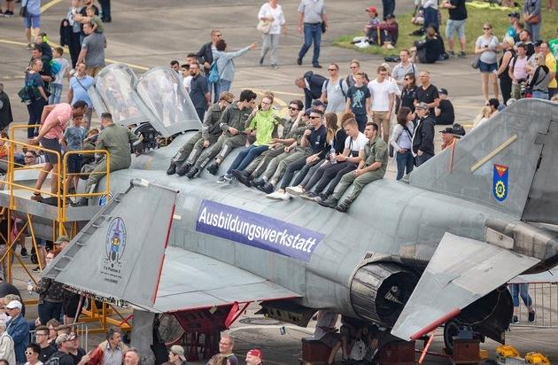 Tag der Bundeswehr und Jubiläum 70 Jahre Luftbrücke Berlin am Samstag, 15. Juni 2019, ab 9 Uhr auf dem Fliegerhorst Faßberg