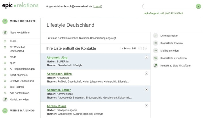news aktuell lanciert intuitiv bedienbare PR-Software