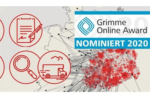 Große Freude beim MDR über Nominierung für Grimme Online Award 2020