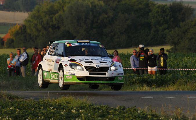 SKODA Pilot Wiegand will nach Podium-Hattrick auch bei der ERC-Rallye in Estland nach vorn
