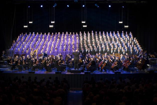 Mormon Tabernacle Choir beendet erste Tournee durch Europa seit 20 Jahren