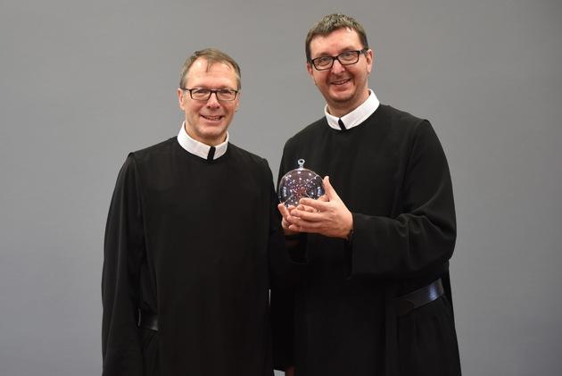 Bruder Alfons Maria Michels und Bruder Peter Berg (v. l.).