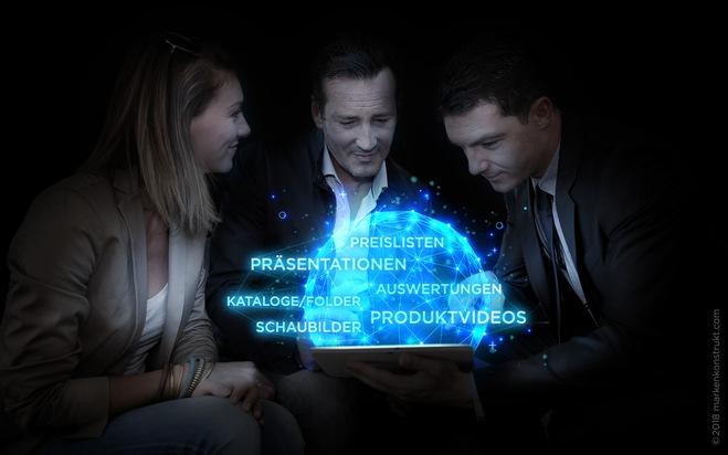 Alle für das Kundengespräch notwendigen Informationen sind mit der PI TOUCH® ? Vertriebs-Software aktuell zur Hand.