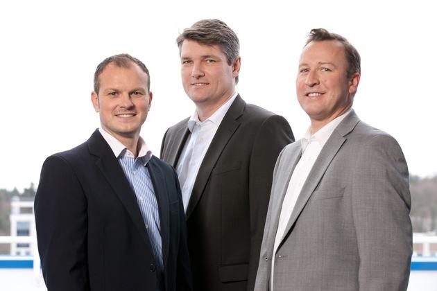 """Die itelligence AG und die ITML GmbH, Pforzheim, geben heute die Übernahme von ITML durch die itelligence AG bekannt. itelligence übernimmt mit Wirkung zum 1. Juni 2016 100 Prozent am renommierten süddeutschen SAP-Beratungshaus und SAP Channel Partner Gold, der ITML GmbH. ITML gehört als SAP Channel Partner Gold zu den wichtigsten Partnern der SAP und CRM-Spezialisten im deutschsprachigen Raum. Die Gründer und Geschäftsführer der ITML GmbH: Stefan Eller, Willy Krießler und Tobias Wahner. Weiterer Text über ots und www.presseportal.de/nr/24336 / Die Verwendung dieses Bildes ist für redaktionelle Zwecke honorarfrei. Veröffentlichung bitte unter Quellenangabe: """"obs/itelligence AG/ITML"""""""