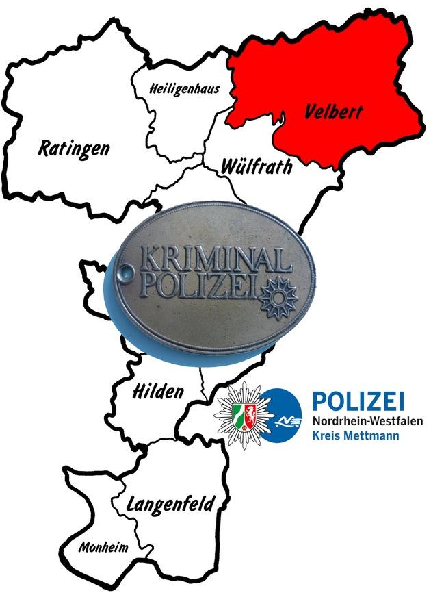 Symbolbild: Die Kriminalpolizei in Velbert ermittelt