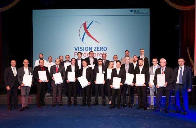 Ausgezeichnete Ideen für mehr Arbeitssicherheit: BG RCI vergibt höchst dotierten Arbeitsschutzpreis in Deutschland