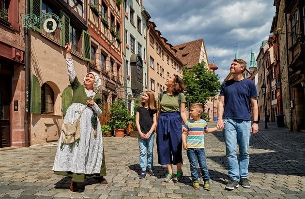 #Stadtglück für Familien in Nürnberg: Imposante Ritterburgen, gemütliche Giraffen und knifflige Rallyes