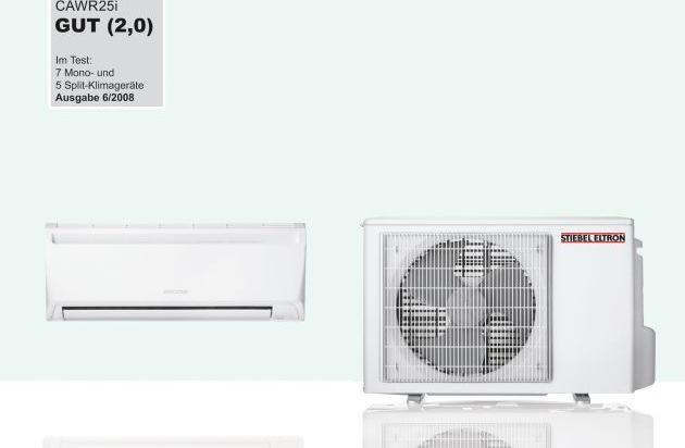 cawr25i ist bestes ger t im test von klimaanlagen stiebel eltron stellt testsieger. Black Bedroom Furniture Sets. Home Design Ideas
