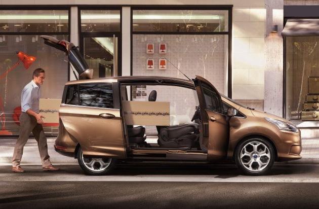 die modernen farben des neuen ford b max inspiriert von. Black Bedroom Furniture Sets. Home Design Ideas