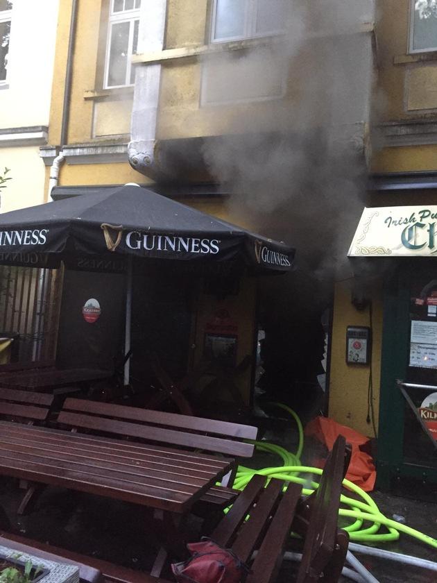 FW-DO: Küchenbrand in einer Gaststätte // Keine verletzten Personen
