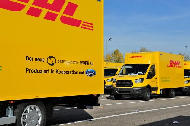 """StreetScooter WORK XL / Weiterer Text über ots und www.presseportal.de/nr/6955 / Die Verwendung dieses Bildes ist für redaktionelle Zwecke honorarfrei. Veröffentlichung bitte unter Quellenangabe: """"obs/Ford-Werke GmbH"""""""