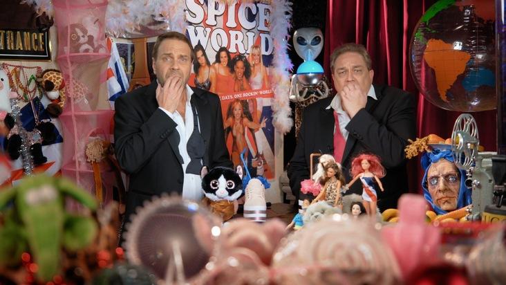 Kurz vor Comeback: Spicegirls mit Warm-up bei SchleFaZ