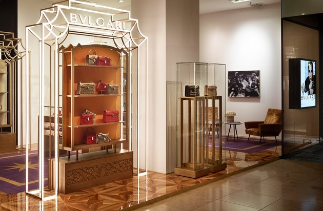 bulgari pop up store im oberpollinger in m nchen presseportal. Black Bedroom Furniture Sets. Home Design Ideas