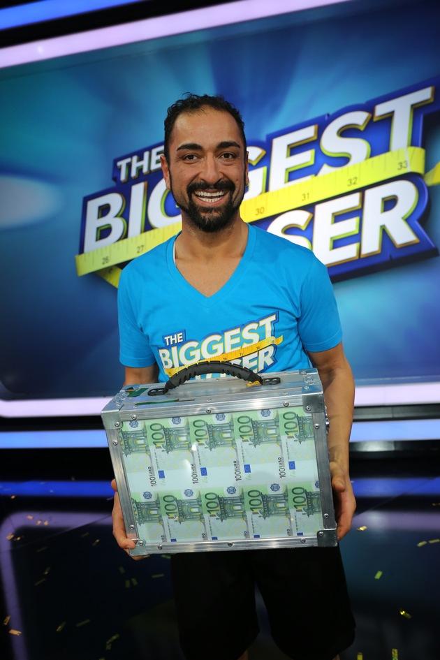 """Ali, der Gewinner von """"The Biggest Loser"""" 2016"""