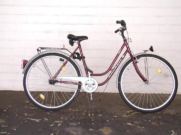 Fahrrad, was vom Täter vor und nach der Tat benutzt wurde