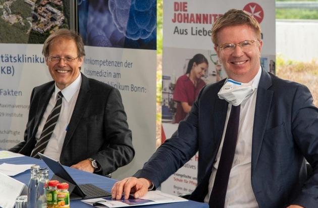 Kooperation des Universitätsklinikums Bonn und des Johanniter-Krankenhauses in Krebsmedizin / Regionales und überregionales Netzwerk für optimale Versorgung von Krebspatienten im Aufbau