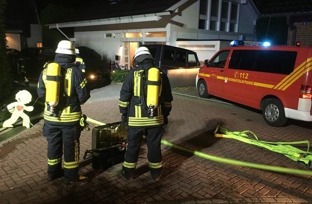 FW-HAAN: Elektrogerät brennt im Keller - Presseportal.de
