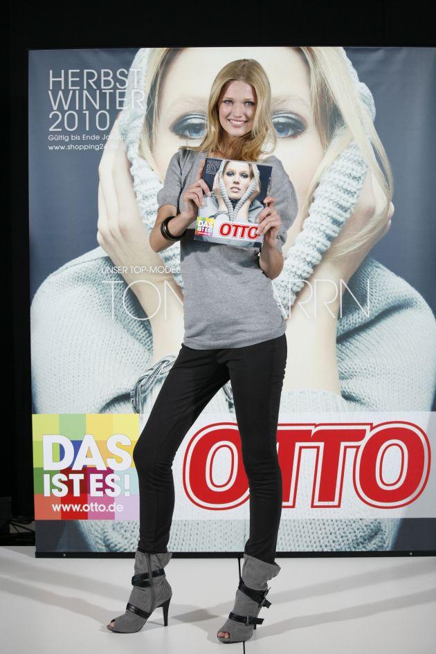 OTTOs neues Topmodel: Mit Toni Garrn startet die Herbst/Winter-Saison (mit Bild)
