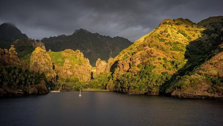 Thomas Junker auf Inselreise im Pazifik