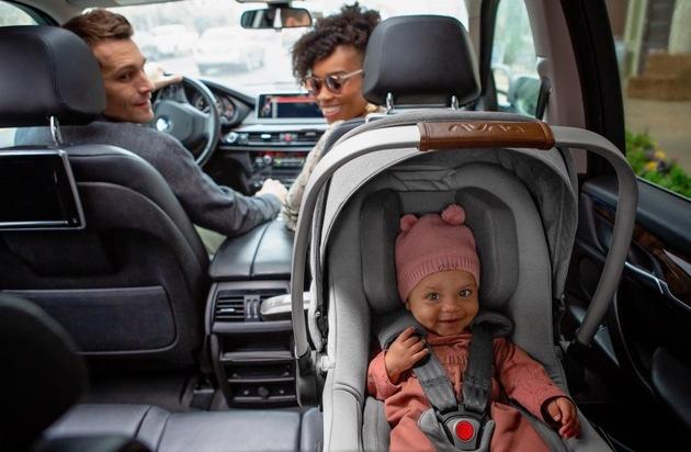 Sicher unterwegs: Babyschale Nuna PIPA next erhält Bestnote für Unfallsicherheit