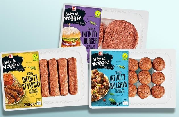 Mehr Vielfalt bei veganen Alternativen / Kaufland erweitert sein Sortiment um frische Fleischersatzprodukte
