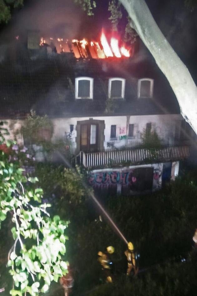 Bild 1 vom Brandort / Quelle: Feuerwehr Ratingen