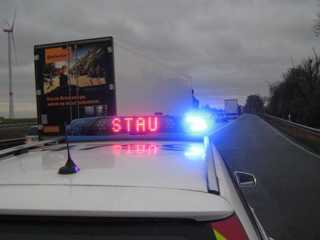 Überwachung auf der Autobahn 61