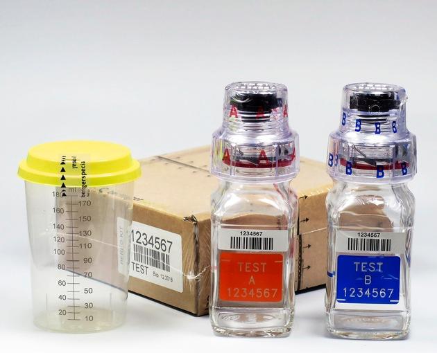 Neue Generation von Anti-Doping Sicherheitsflaschen