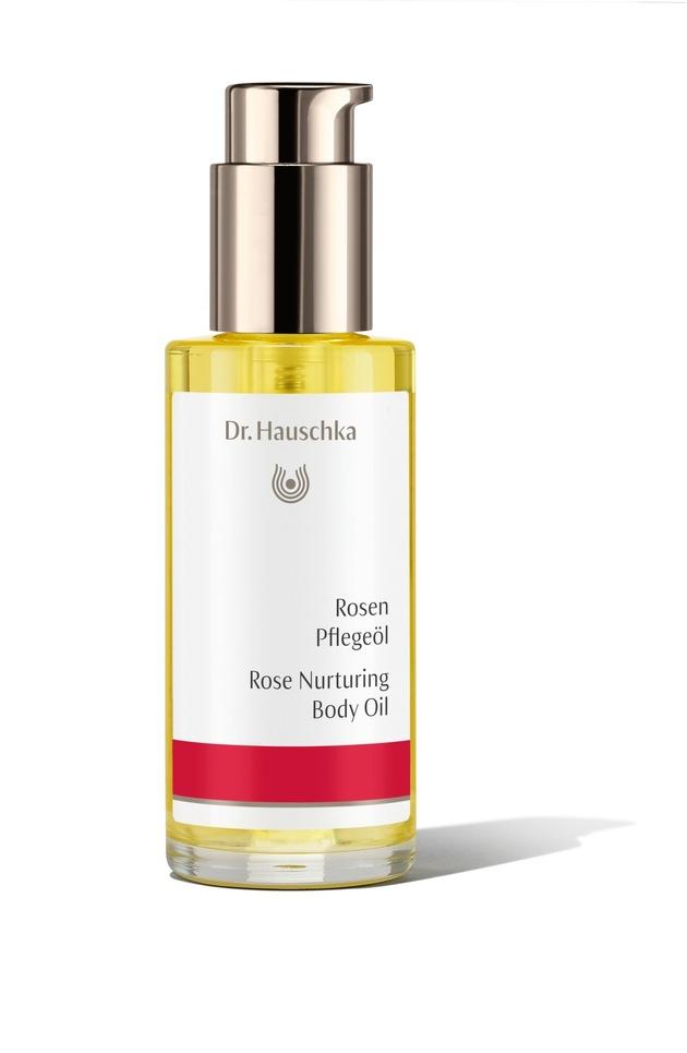 Dr. Hauschka Rosen Pflegeöl in der 75-ml-Originalgröße