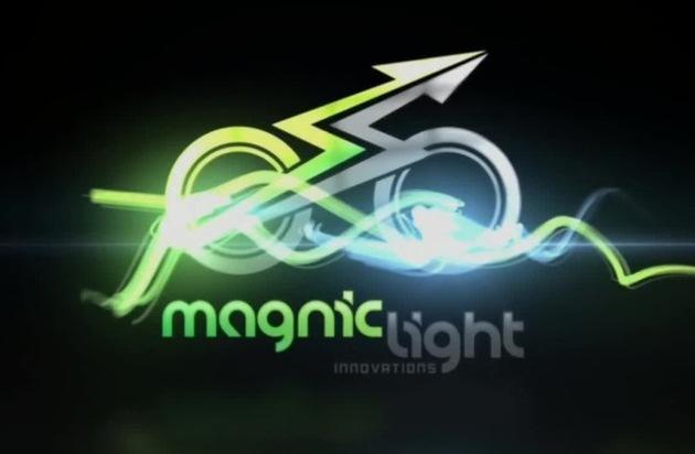 Deutsche Firma Magnic Innovations entwickelt den kleinsten berührungslosen Fahrraddynamo der Welt - integriert in einen normalen Bremsschuh