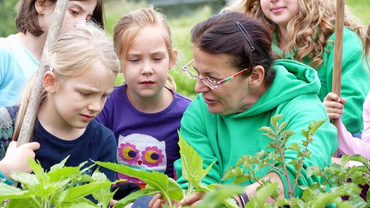 Auf dem Tiggeshof können Besucherinnen und Besucher nicht nur Land- und Stallluft schnuppern, sondern auch eine Menge über Ökolandwirtschaft lernen.
