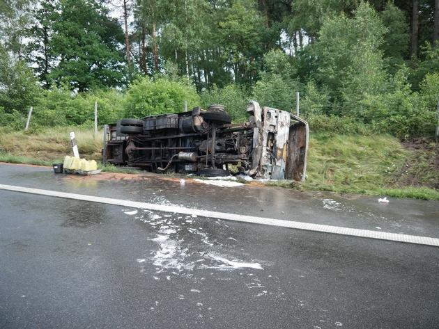 POL-ROW: ++ Polizei sucht Zeugen nach Unfall auf der Hansalinie ++