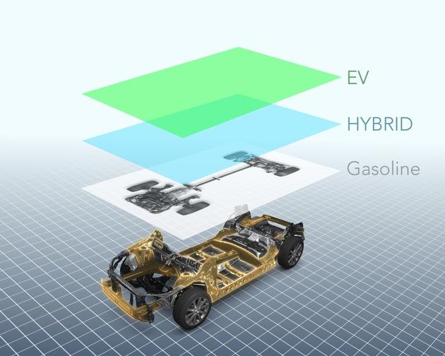 """Basis für alle künftigen Subaru-Modelle: Die neue Fahrzeugarchitektur. Weiterer Text über ots und www.presseportal.de/nr/34801 / Die Verwendung dieses Bildes ist für redaktionelle Zwecke honorarfrei. Veröffentlichung bitte unter Quellenangabe: """"obs/Subaru"""""""