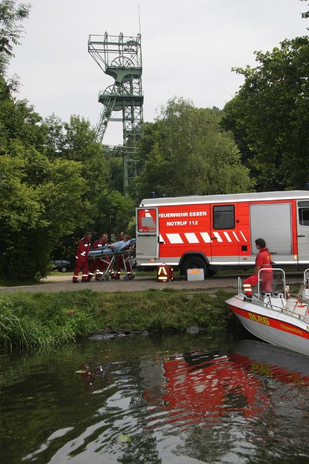 FW-E: Kooperation zwischen DLRG und Feuerwehr funktioniert reibungslos und effektiv