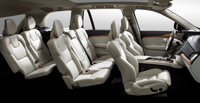 """Johnson Controls contributes to maximum seating comfort in """"Truck of the Year"""" Volvo XC90 / Seat covers and padding for the """"rolling living room"""""""