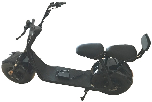 Entwendeter E-Scooter