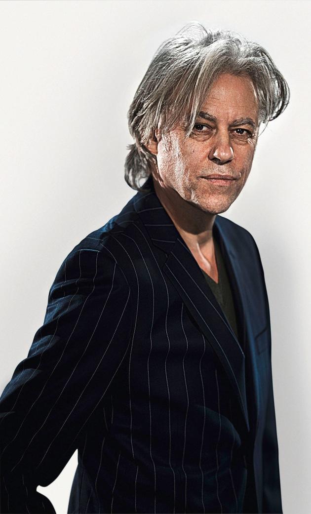 """Bob Geldof: Der inspirierende neue Botschafter der Schweizer Uhrenmarke Maurice Lacroix / Weiterer Text ueber ots und auf https://www.presseportal.ch. Die Verwendung dieses Bildes ist fuer redaktionelle Zwecke honorarfrei. Veröffentlichung unter Quellenangabe: """"obs/Maurice Lacroix S.A.""""."""